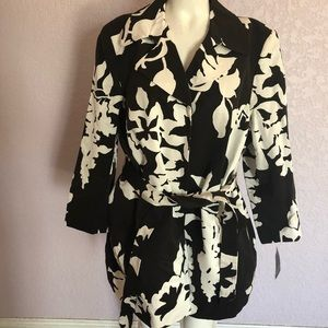 Dana Buchman Woman Jacket Made in Italy Size 24